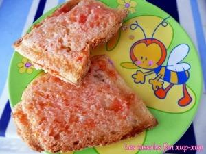Pan tostado tomate y aceite